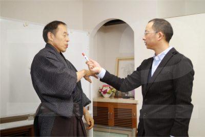 甲野善紀先生と小関 勲先生