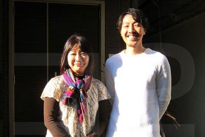 有本匡男先生と伊東昌美さん