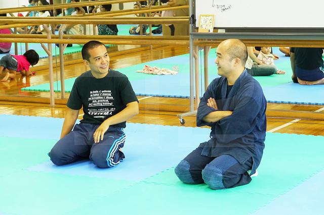 「親子体育」をかんがえる 対談・北川貴英&山上 亮