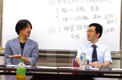 山口先生、有本さん