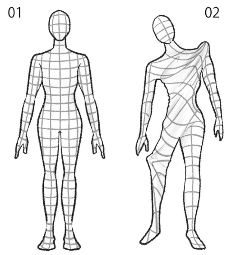 筋膜ボディスーツ