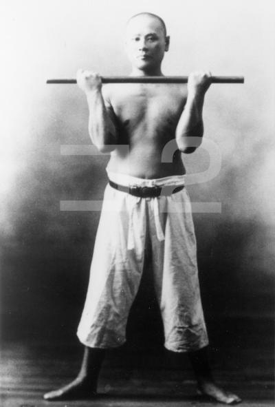 腰腹鍛錬法上体より