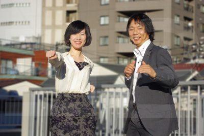小野美由紀さんと横山和正先生