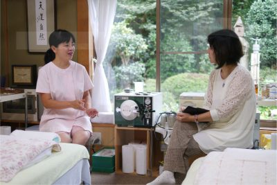平池治美先生と伊東昌美さん
