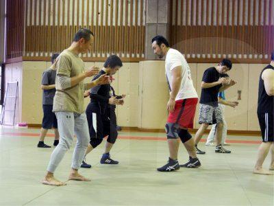 1月に行われた出版記念CACC講習会で指導をする鈴木選手。