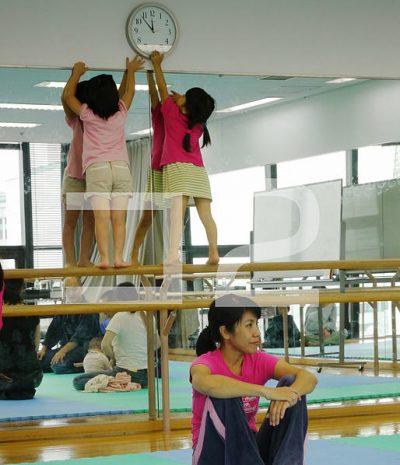親子体育の講座風景
