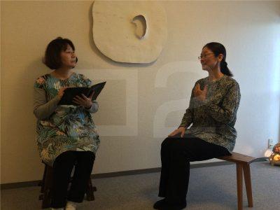 林友子先生と伊東昌美さん