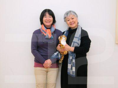 田中ちさこ先生と伊東昌美さん
