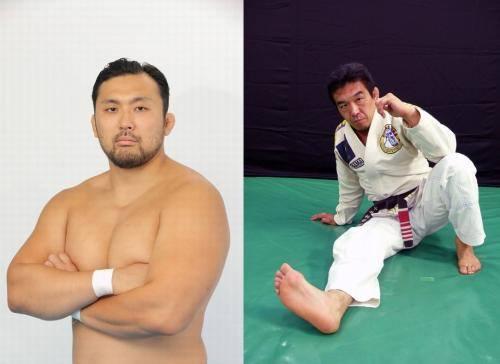 中井祐樹先生、鈴木秀樹選手
