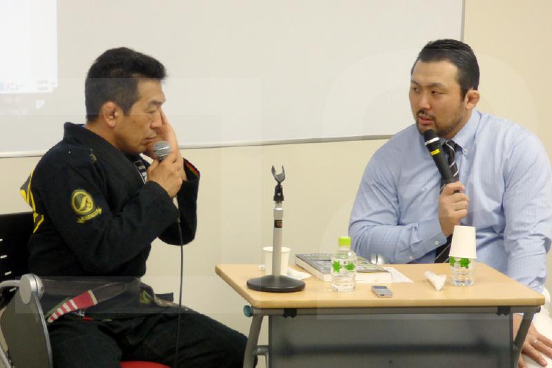 中井裕樹氏と鈴木秀樹さん
