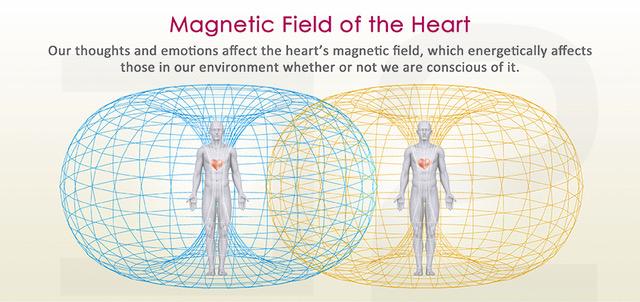 人がつくりだす心臓の電磁場(イメージ)
